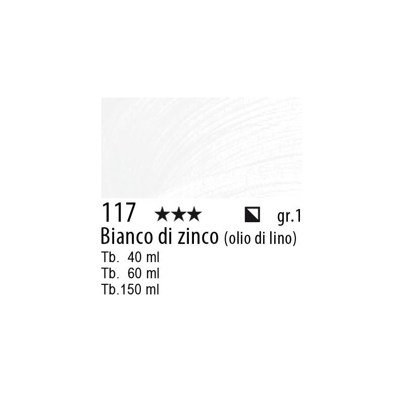 117 - Rembrandt Bianco di zinco (olio di lino)