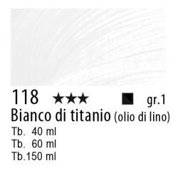 118 - Rembrandt Bianco di titanio (olio di lino)