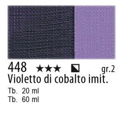 448 - Maimeri Olio Classico Violetto di cobalto imit.