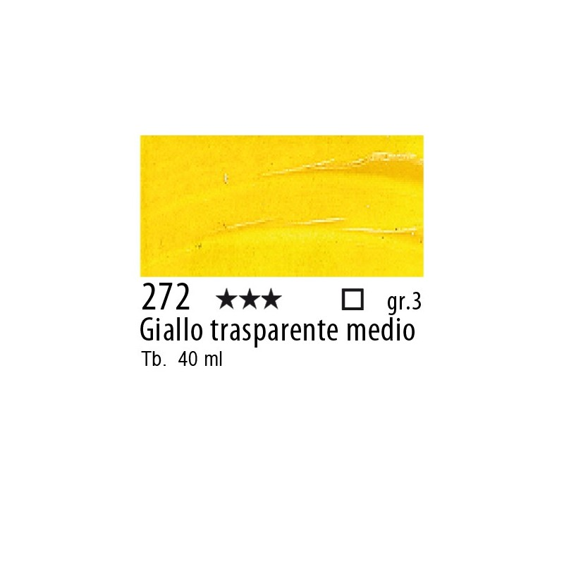 272 - Rembrandt Giallo trasparente medio