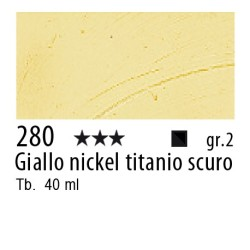 280 - Rembrandt Giallo nickel titanio scuro