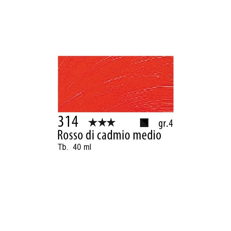314 - Rembrandt Rosso di cadmio medio