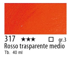 317 - Rembrandt Rosso trasparente medio
