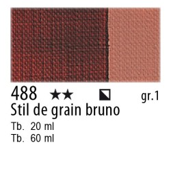 488 - Maimeri Olio Classico Stil de grain bruno
