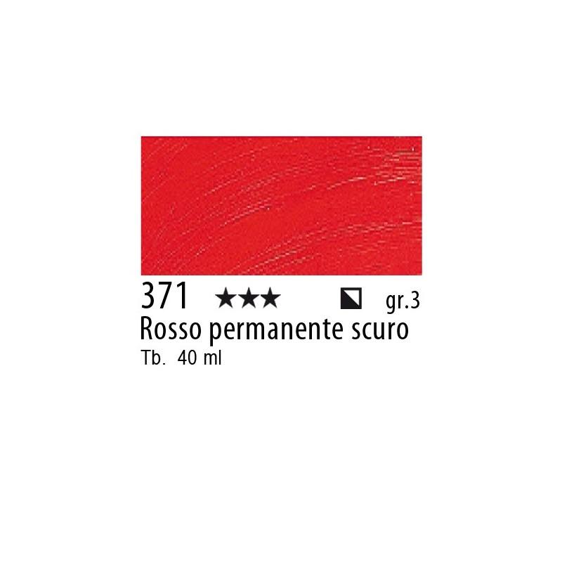 371 - Rembrandt Rosso permanente scuro