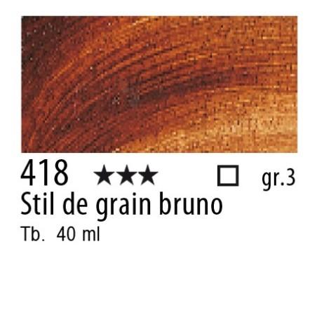 418 - Rembrandt Stil de grain bruno
