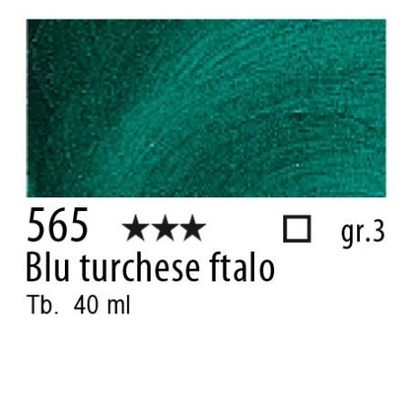 565 - Rembrandt Blu turchese ftalo