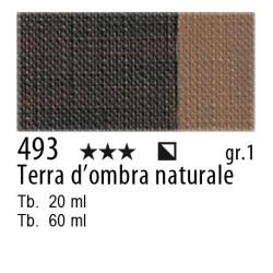 493 - Maimeri Olio Classico Terra d'ombra naturale