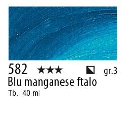 582 - Rembrandt Blu manganese ftalo