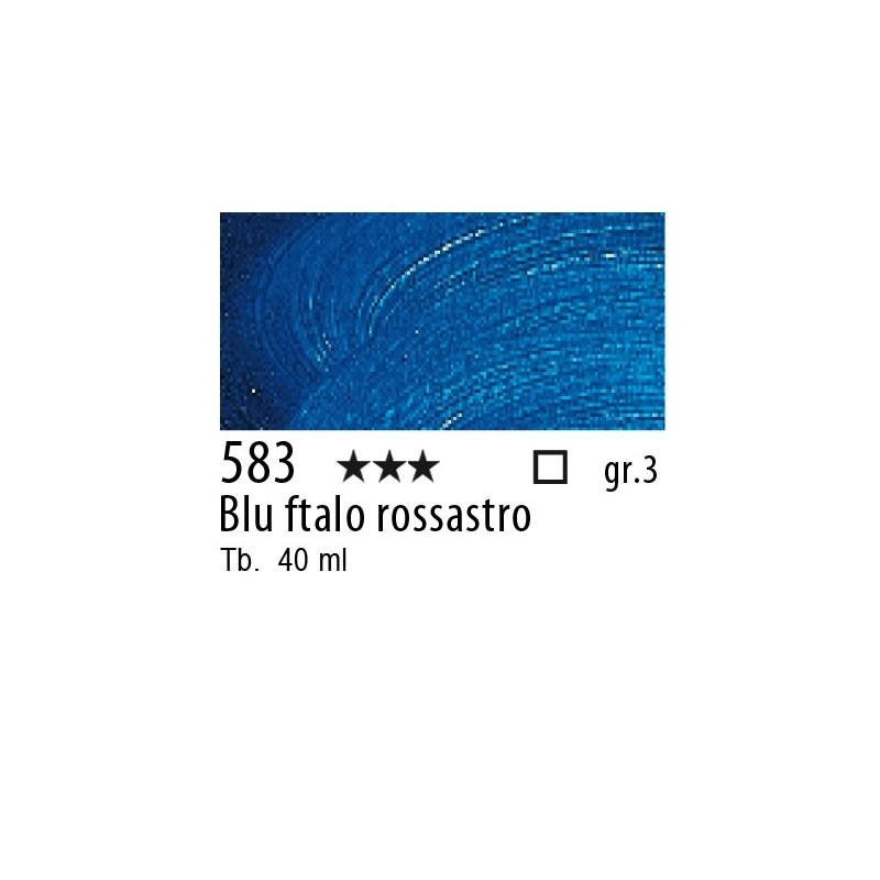 583 - Rembrandt Blu ftalo rossastro