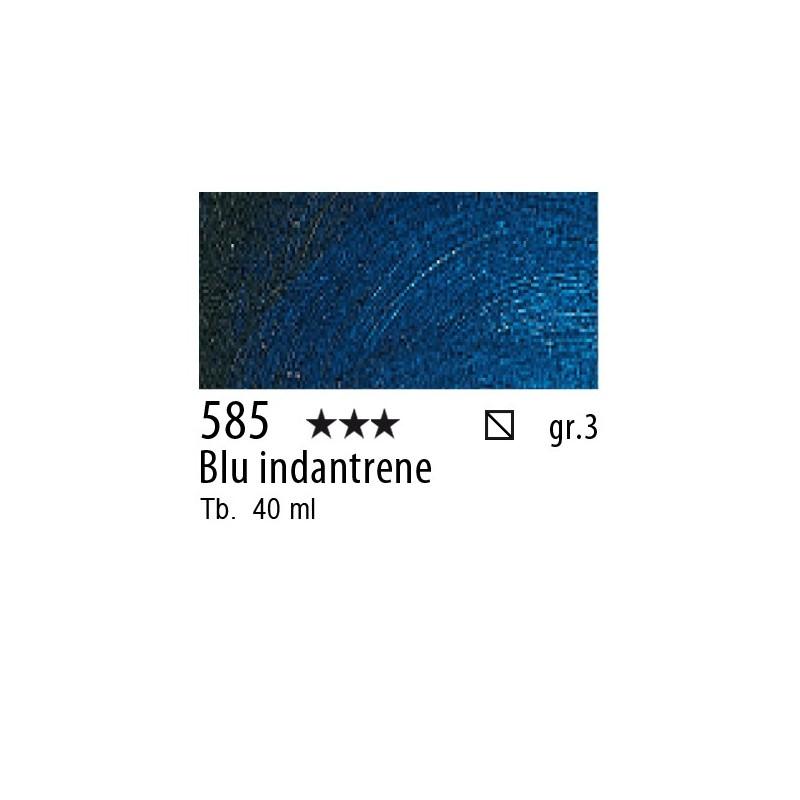 585 - Rembrandt Blu indantrene