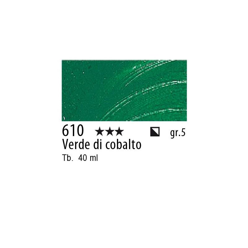 610 - Rembrandt Verde di cobalto
