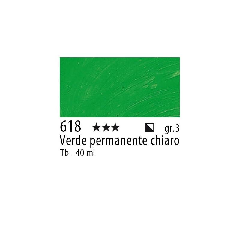 618 - Rembrandt Verde permanente chiaro