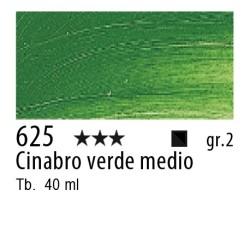 625 - Rembrandt Cinabro verde medio