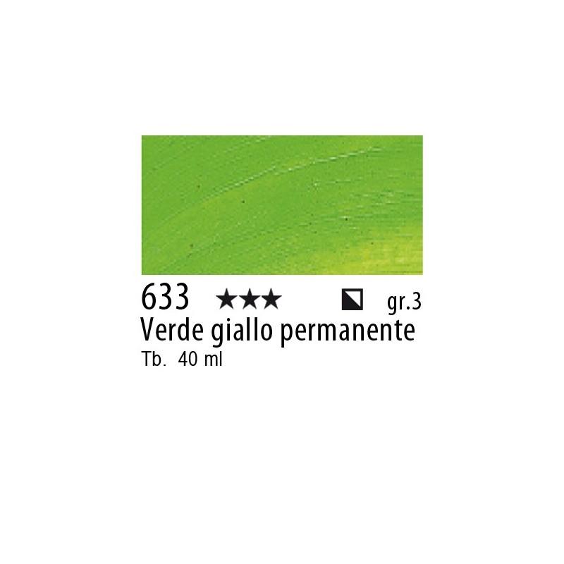633 - Rembrandt Verde giallo permanente
