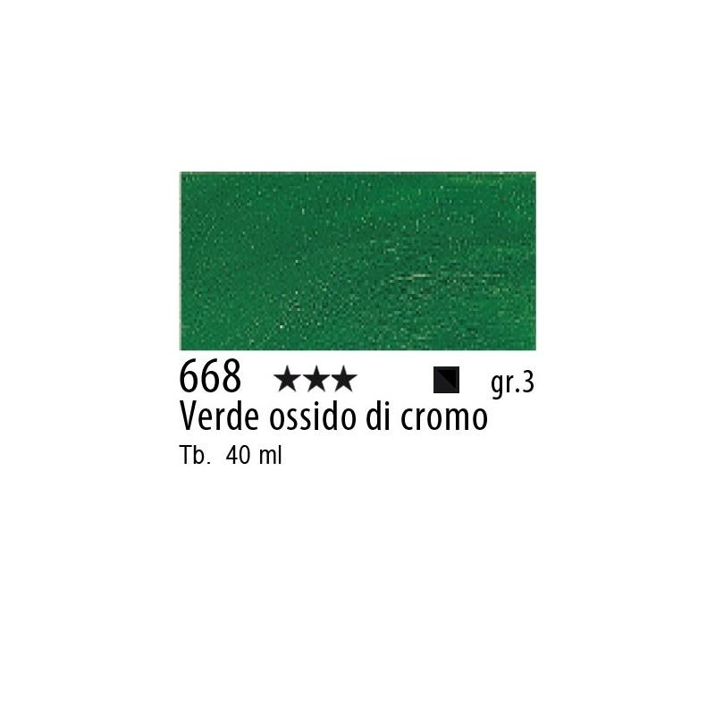 668 - Rembrandt Verde ossido di cromo
