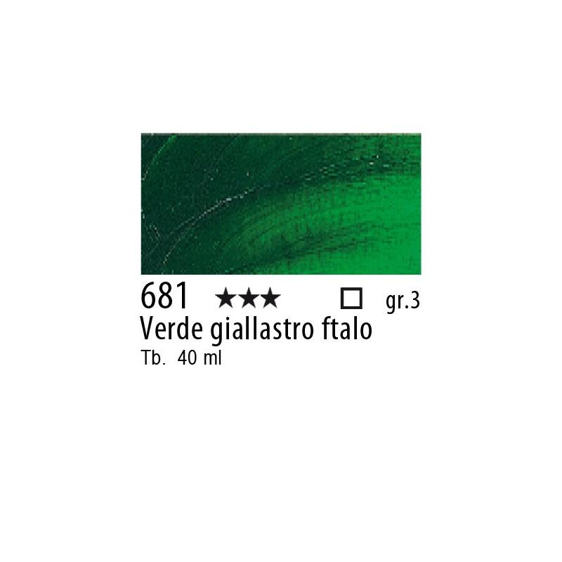 681 - Rembrandt Verde giallastro ftalo