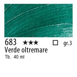 683 - Rembrandt Verde oltremare