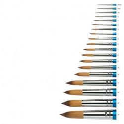 Cotman Serie n.111, pennello in pelo sintetico dorato a punta tonda
