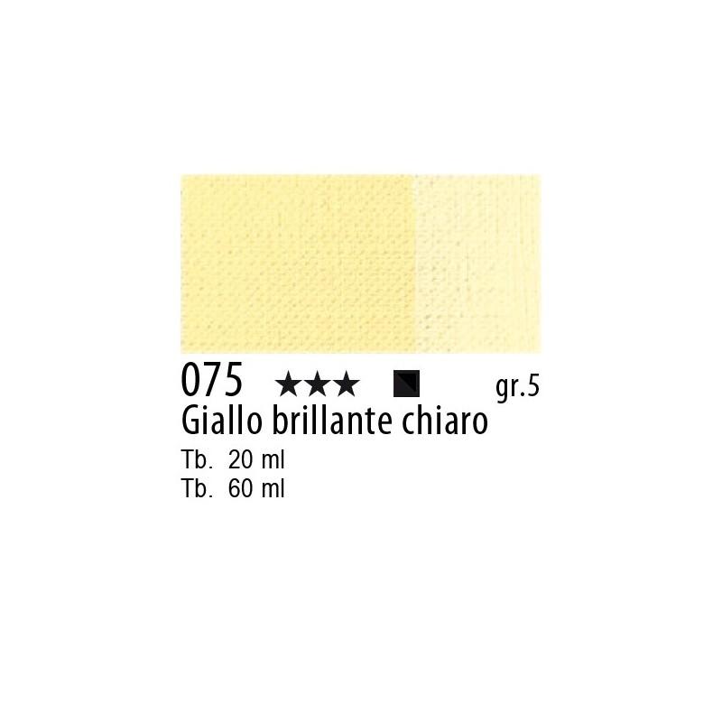 075 - Maimeri Olio Artisti Giallo brillante chiaro