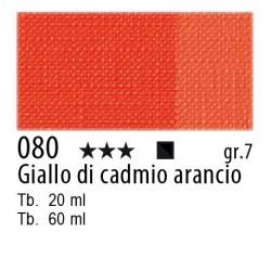 080 - Maimeri Olio Artisti Giallo di cadmio arancio