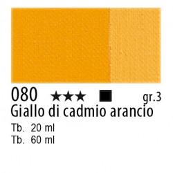 080 - Maimeri Olio Classico Giallo di cadmio arancio