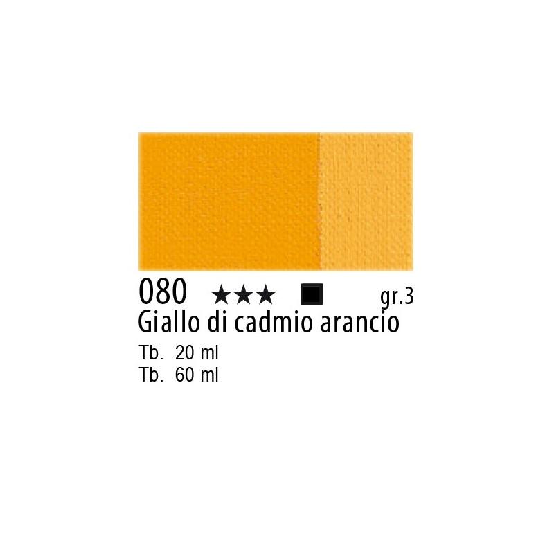 Maimeri Olio Classico Giallo di cadmio arancio