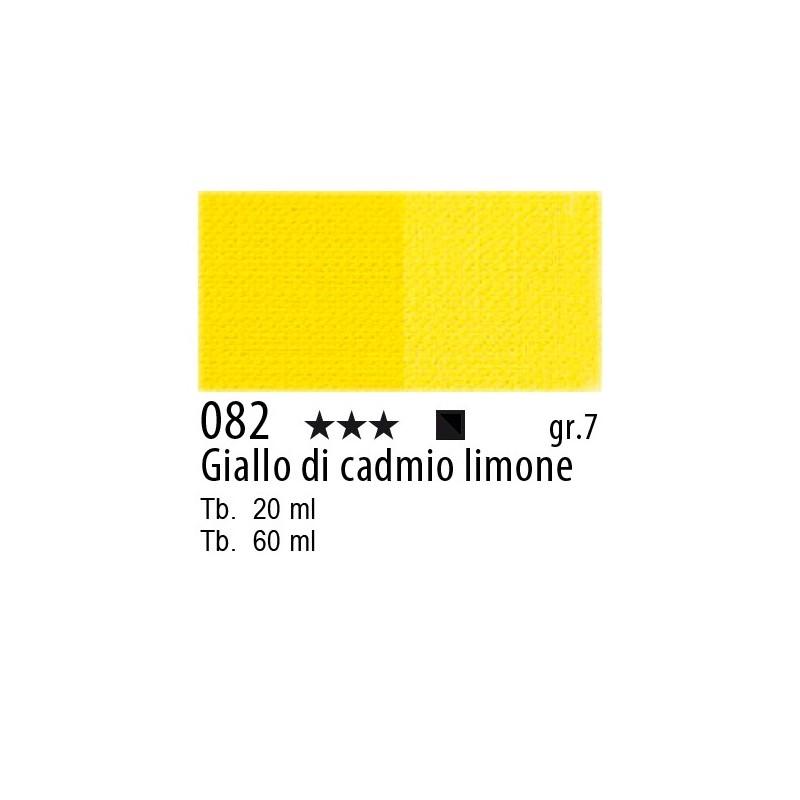 082 - Maimeri Olio Artisti Giallo di cadmo limone