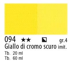 094 - Maimeri Olio Artisti Giallo di cromo scuro imit.