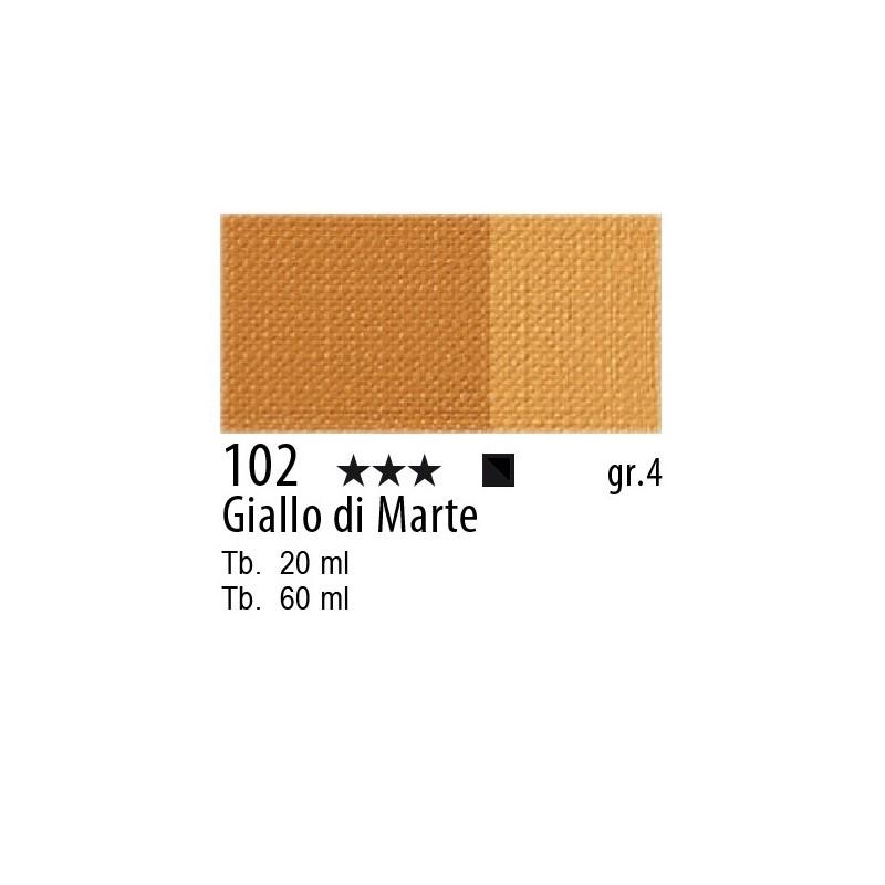102 - Maimeri Olio Artisti Giallo di Marte